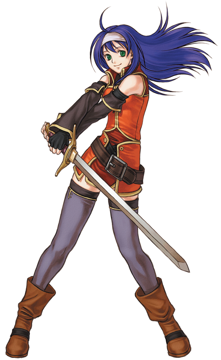 Mia from Fire Emblem: Path of Radiance